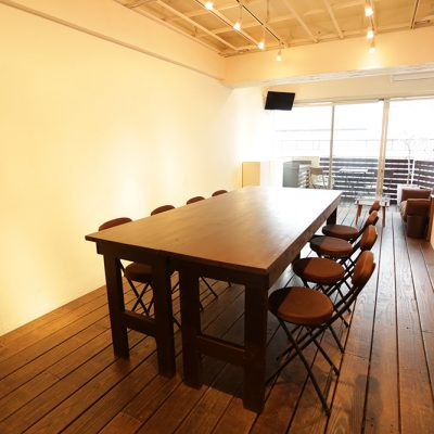 会議室、ワークショップなどでも使えます