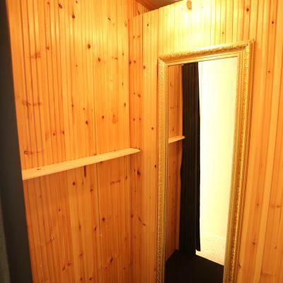502号室の更衣室