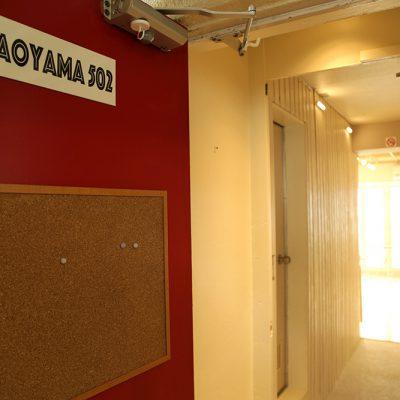 502号室の入り口