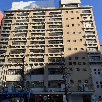 246 建物外観 青山通り246号沿いのビルの2階